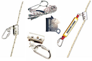 MOBILE ARREST DEVICES FOR ROPES