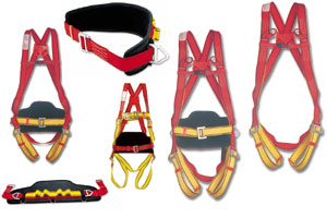 SAFETY HARNESSES & BELTS